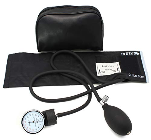 Pediatric Cuff - Aneroid Sphygmomanometer by LotFancy, Pediatric BP Cuff (7.2