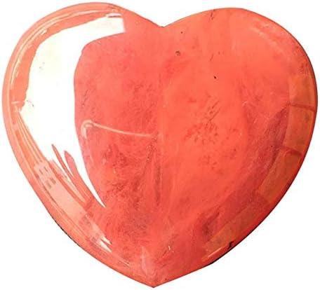 Bellas Cristal, piedra preciosa natural del cristal de cuarzo rosa en forma de corazón de piedra, sanación con cristales de piedras preciosas for los regalos de la decoración del hogar artesanía brico