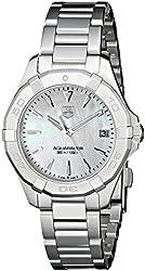 TAG Heuer Women's WAY1312.BA0915 Aquaracer Analog Display Quartz Silver Watch