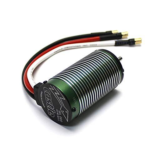 Basde Brushless Motor Sensorless, Waterproof Speed Controller Combo Set for Castle1515 Creations 2200kV Brushless Motor Traxxas E-Revo E-Maxx ()