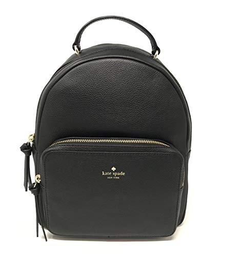 Nicole Backpack (Kate Spade New York Mini Nicole Larchmont Avenue Leather Backpack Black)