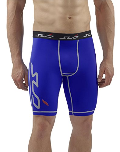 Sub Sports Mens Compression Running Shorts Trunks Knee Length Base Layer -XL