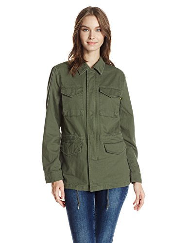 Alpha Industries Women's Revival Field Coat W, Olive, S by Alpha Industries