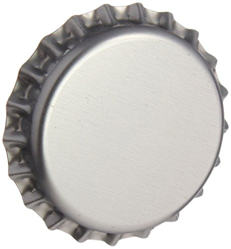 Crown Caps - Silver - Gross Package (144 Pack)