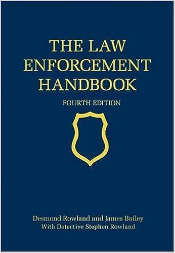 The Law Enforcement Handbook, Fourth Edition