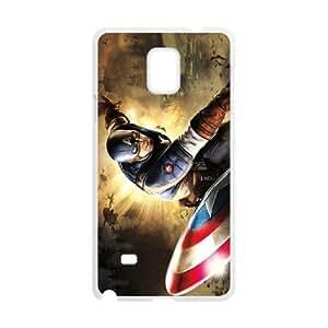 Samsung galaxy note 4 N9100 Captain America 2 Phone Back Case Art Print Design Hard Shell Protection HG092106