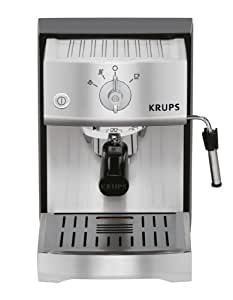 KRUPS XP5240 Pump Espresso Machine with KRUPS Precise Tamp Technology and Stainless Steel Housing, Silver