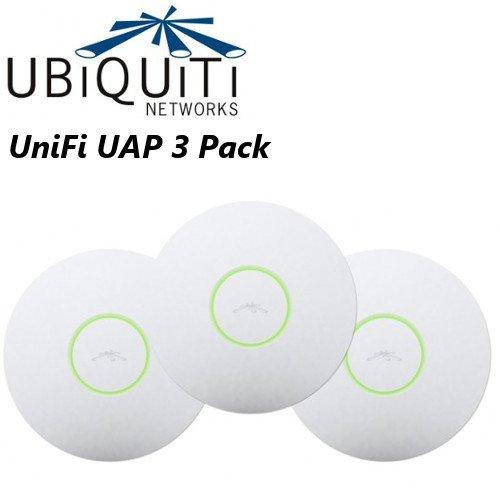 Ubiquiti Networks UniFi AP Enterprise WiFi System UAP-3 (Pack of 3)