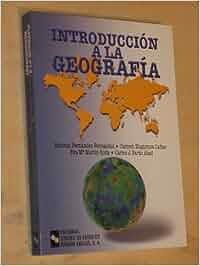 Introducción a la Geografía (Manuales): Amazon.es: Antonio