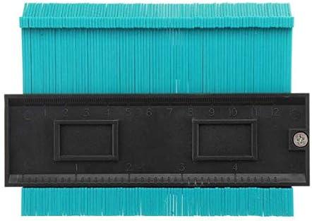 Color : Red WEUDOLU Contour Gauge 5 inch Smart Contour Duplicator Multi-Function Contour Profile Gauge Marking Tool Tiling Laminate Tiles General Tools Tani Katsura