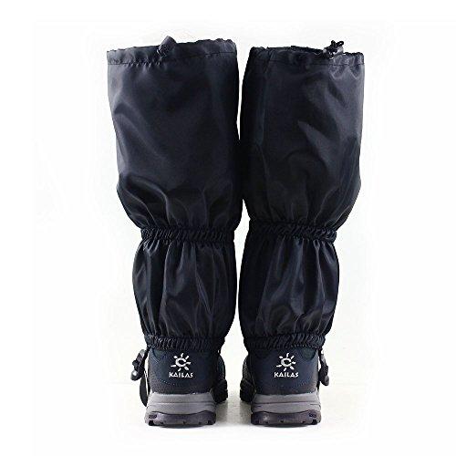 NATURE WORSHIP Gaiters Waterproof For Men and Women Snow Hiking Skiing Running Hunting Leg Covers by NATURE WORSHIP (Image #2)