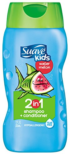 Suave Kids 2 in 1 Shampoo and Conditioner, Wild Watermelon 12 Ounce