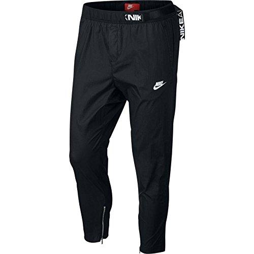 Nike Mens M NSW Pant AIR MAX Woven 861590-010_2XL - Black/Black/White (Nike Pant Woven Mens)