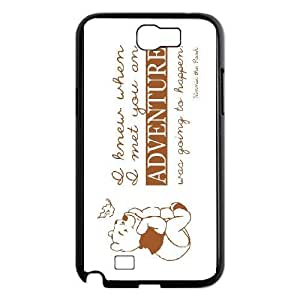 Samsung Galaxy Note 2 N7100 Cover Cell phone Case Adventure Life Quotes Izgxf Plastic Durable Cases