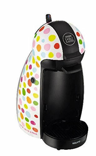 Krups Dolce Gusto Piccolo ARDLP Topos - Cafetera, 1500 W ...