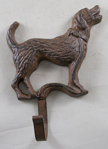 Iron Labrador Wall Plaque Hook product image