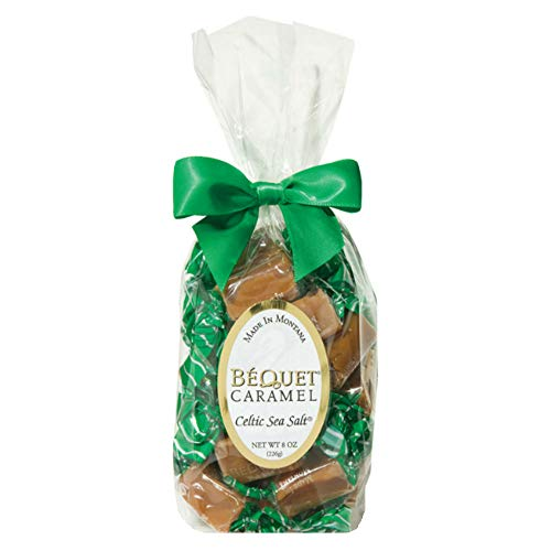 Bequet Caramels - Celtic Sea Salt 8oz (12 Pack) by Bequet Caramels (Image #1)