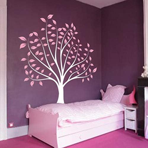 YuanMinglu Vivero Ramas y Hojas Decorativas vinilos Adhesivos de Pared habitación Infantil Pared habitación bebé árbol Forestal Alto 180 cm: Amazon.es: Hogar