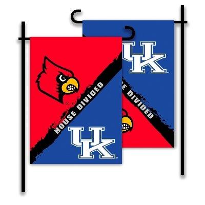 Kentucky - Louisville 2-Sided Garden Flag - Rivalry House Divided