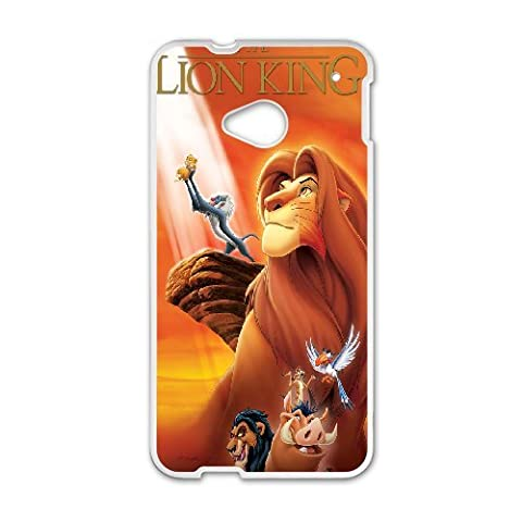 HTC One M7 Phone Case The Lion King Q22Q389111 (Lion King Htc One M7 Case)
