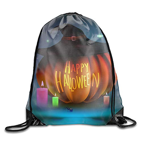 Happy Halloween Pumpkin Oxford Fabric Shoulders Buggy Bag