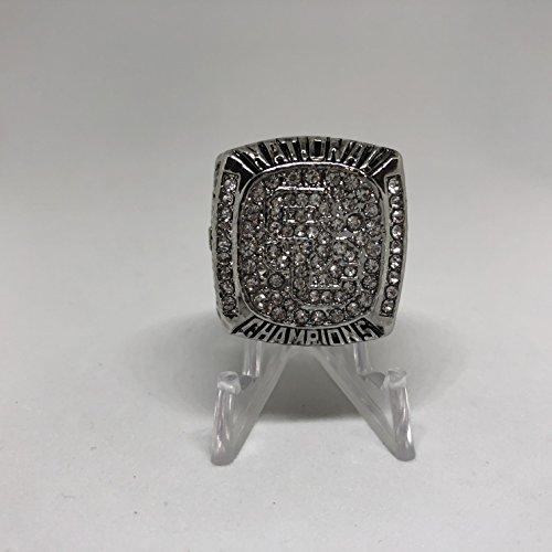 Usc Ring - 2004 Matt Leinart University of Southern California Trojans USC High Quality Replica 2004 BCS National Championship Ring Size 10-Silver Color US SHIPPING