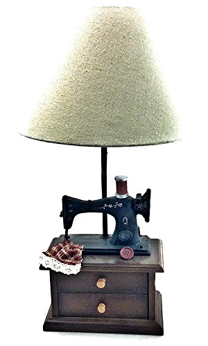 Sewing Machine Lamp, Vintage Lamp, Table Lamp, New Home Sewing Machine Replica