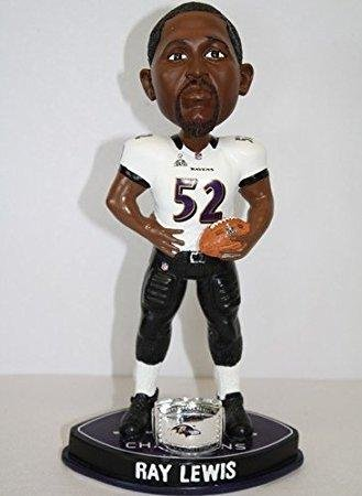 Ray Lewis Baltimore Ravens Superbowl Champions Bobblehead 2013