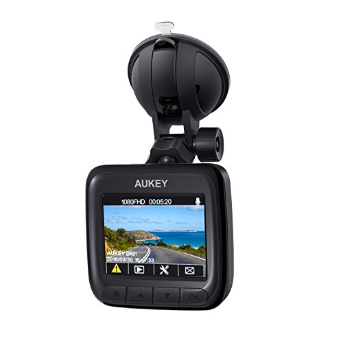 AUKEY Dash Cam, Dashboard Camera Recorder with ...