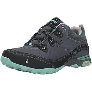 Ahnu Women's AF2421 Sugarpine Water Proof Hiking Boot, Dark Slate, 7 B(M) US