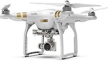 DJI CP.PT.000181 - Mini avion no tripulado Phantom 3 profesional con vídeo cámara, blanco