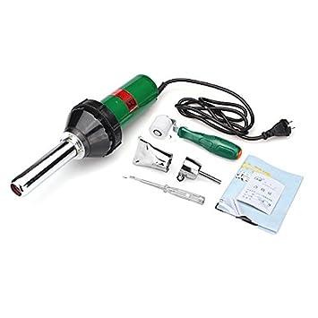 Calli 220v 1000w soldador de plástico de mano pistola de aire caliente pistola de aire caliente de soldadura de vinilo: Amazon.es: Electrónica