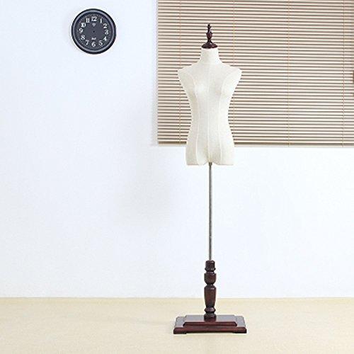 BEIYANG Female Mannequin Torso Dress Form Display Stand Designer Pattern (Dark red, S) by BEIYANG