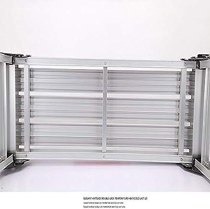 Escalera Plegable Del Hogar - Aleación De Aluminio Gruesa Mesa De ...