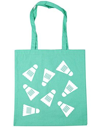 10 pattern x38cm Bag Gym litres Beach Tote Mint 42cm Badminton Shopping HippoWarehouse SHqFwzf