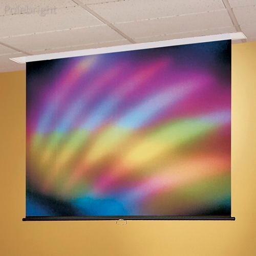 "197032ecアクセス/シリーズM 87.5 X 140 X 140 X "" ceiling-recessed手動screen- polebright更新 B01MZFRJOC"