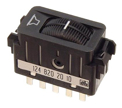 OES Genuine Fader Control Switch for select Mercedes-Benz models