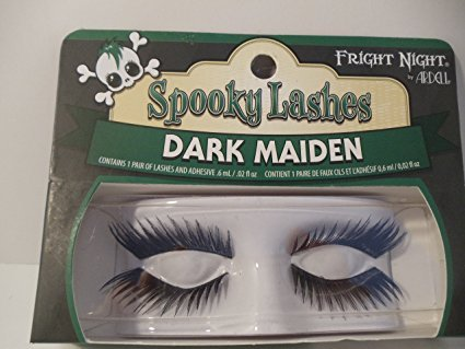 Night Vigilante Costume (Fright Night Spooky Lashes Dark Maiden)