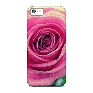 High Quality Beauty Rose Case For Iphone 5c / Perfect Case