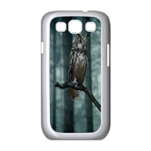 Owl art Pattern Hard Case Cover Back Skin Protector for For Samsung Galaxy Case S3 FKGZ468368