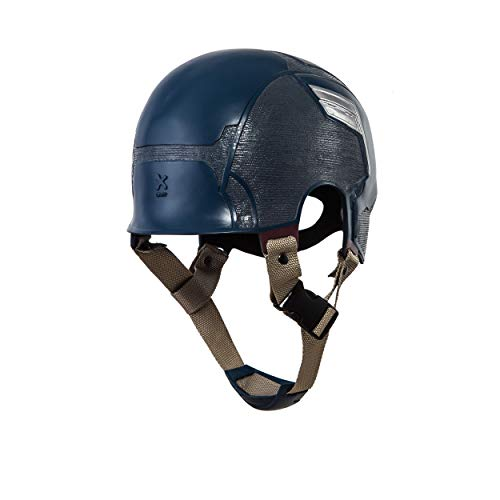 Traveller Captain America 3 Civil War Helmet Movie Cosplay Props for Adult, Navy Blue, one size by Traveller (Image #3)