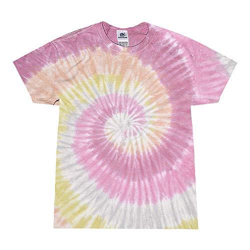 Colortone Tie Dye T-Shirt SM Desert Rose