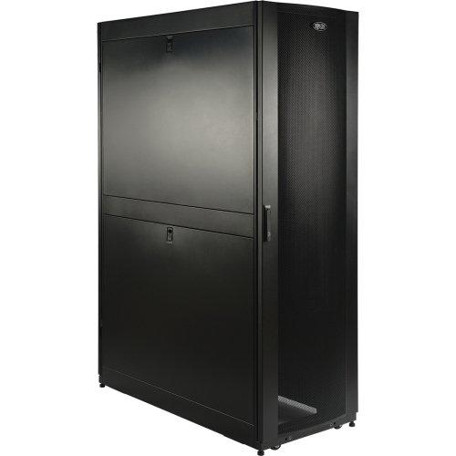 "Tripp Lite 45U Smartrack Deep Premium Enclosure (Includes Doors And Side Panels) . 19"" 45U Wide . Black ""Product Type: Rack & Cabling/Rack Equipment"""