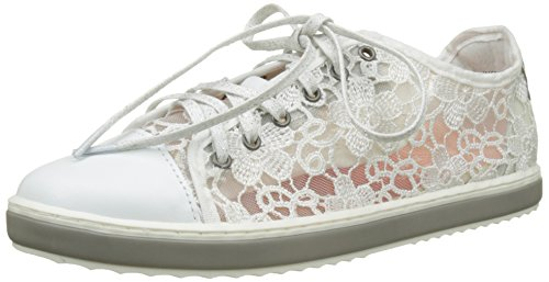 Supper Happy Basses Femme Blanc Sneakers 1000 Desigual White 5datwp