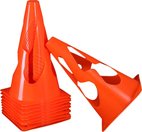 Admiral Soccer Premier Collapsible Training Cone, 9'' by Admiral