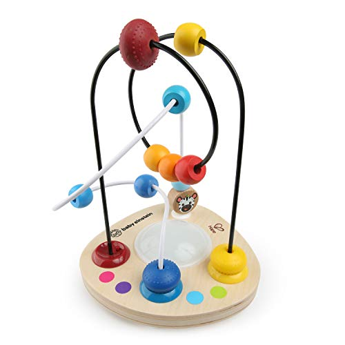 Baby Einstein Color Mixer  Wooden Bead Maze Toddler Toy, Ages 12 months and up