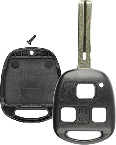 Discount Keyless Replacement Keyless Entry Remote Fob Uncut Blank Key Blade Shell Case For HYQ1512V, HYQ12BBT