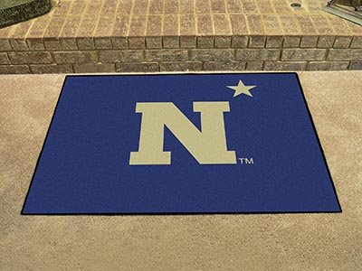 Fanmats Home Indoor Sports Team Logo US Naval Academy All-Star Rugs 34