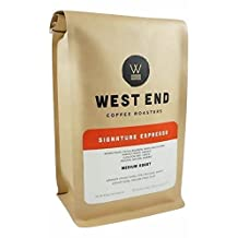 West End Coffee Roasters, Signature Espresso, Medium Roast, Whole Bean (1lb), Our #1 Best Selling Espresso in 2016