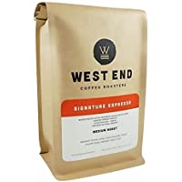 West End Coffee Roasters, Signature Espresso, Medium Roast, Whole Bean (14oz), Our #1 Best Selling Medium Roast Espresso in 2018